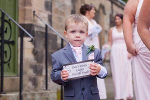 Page Boy Wedding