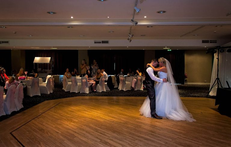 First dance Castle Green Hotel